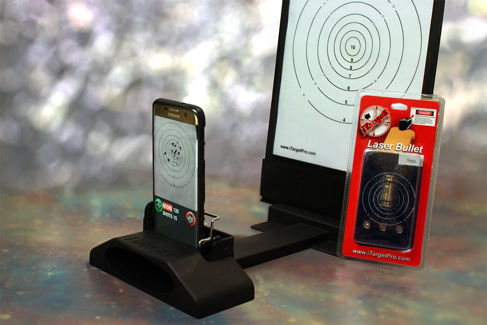 Shoot Your Gun Indoors, With The iTarget Pro You Can Target Practice With Your Cell Phone [VIDEO]