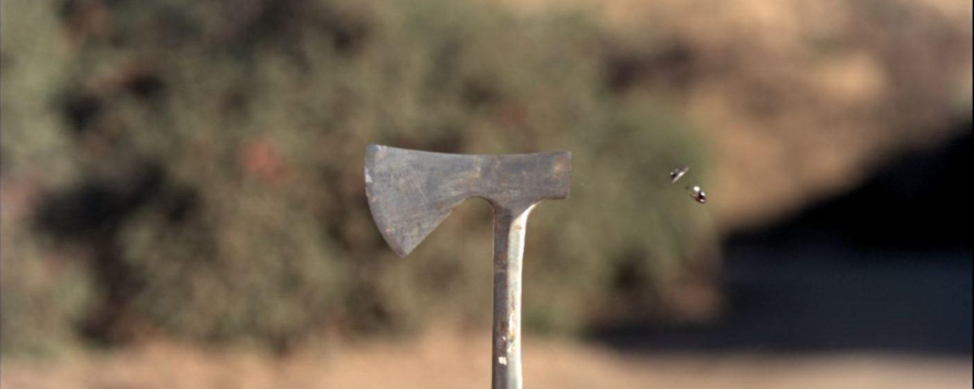 Bullet vs. the blade