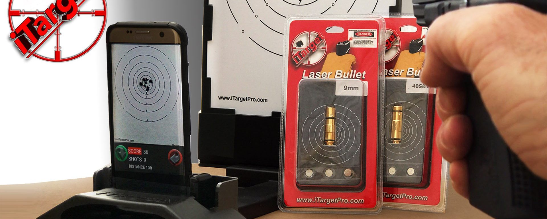 iTarget Training System For Effective Dry-Fire Practice