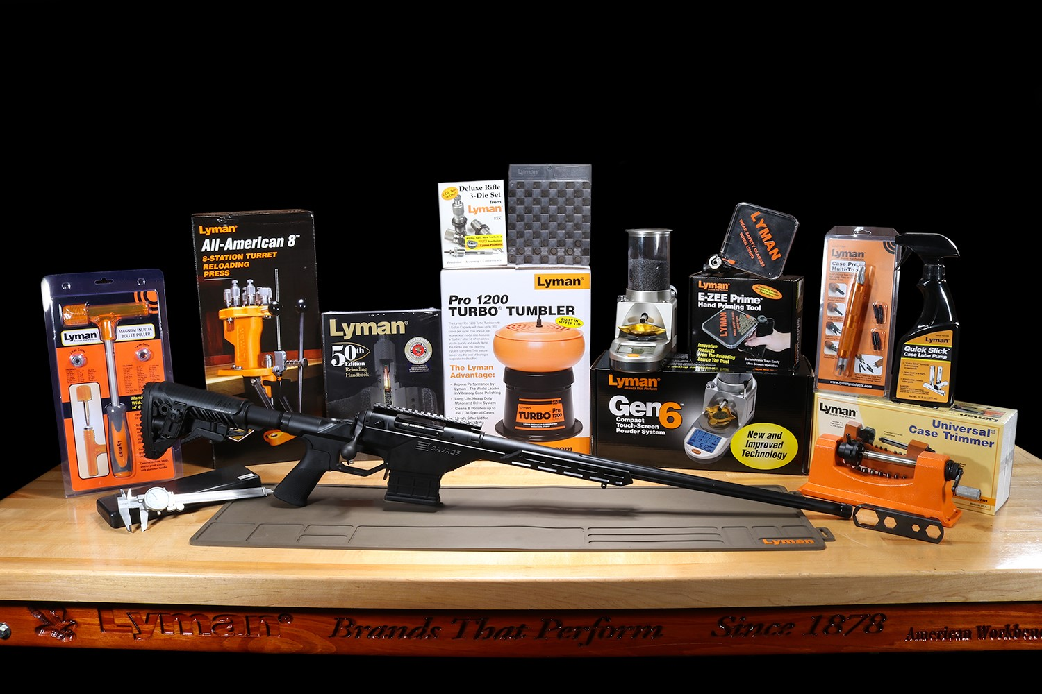 """Lyman® Products"""" What's On Your Bench?"""" Sweepstakes"""