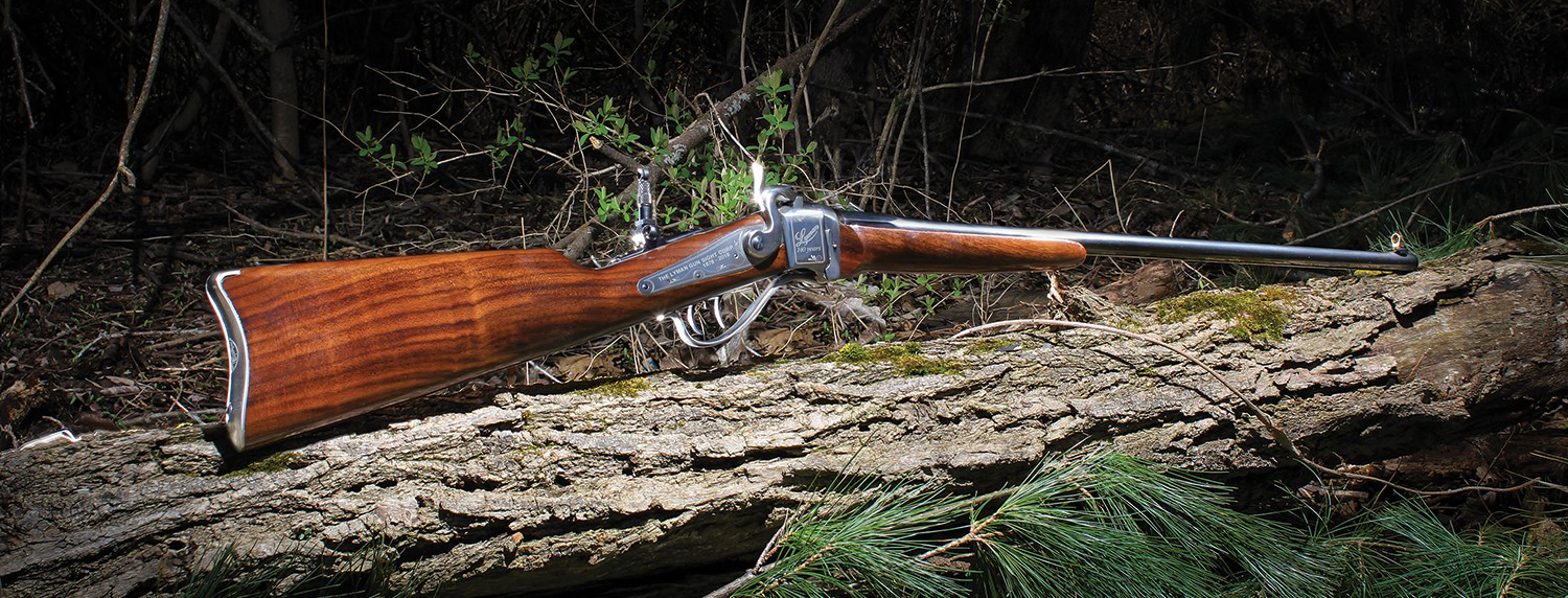 The Lyman® Products Commemorative Lyman Sharps Carbine is now Shipping