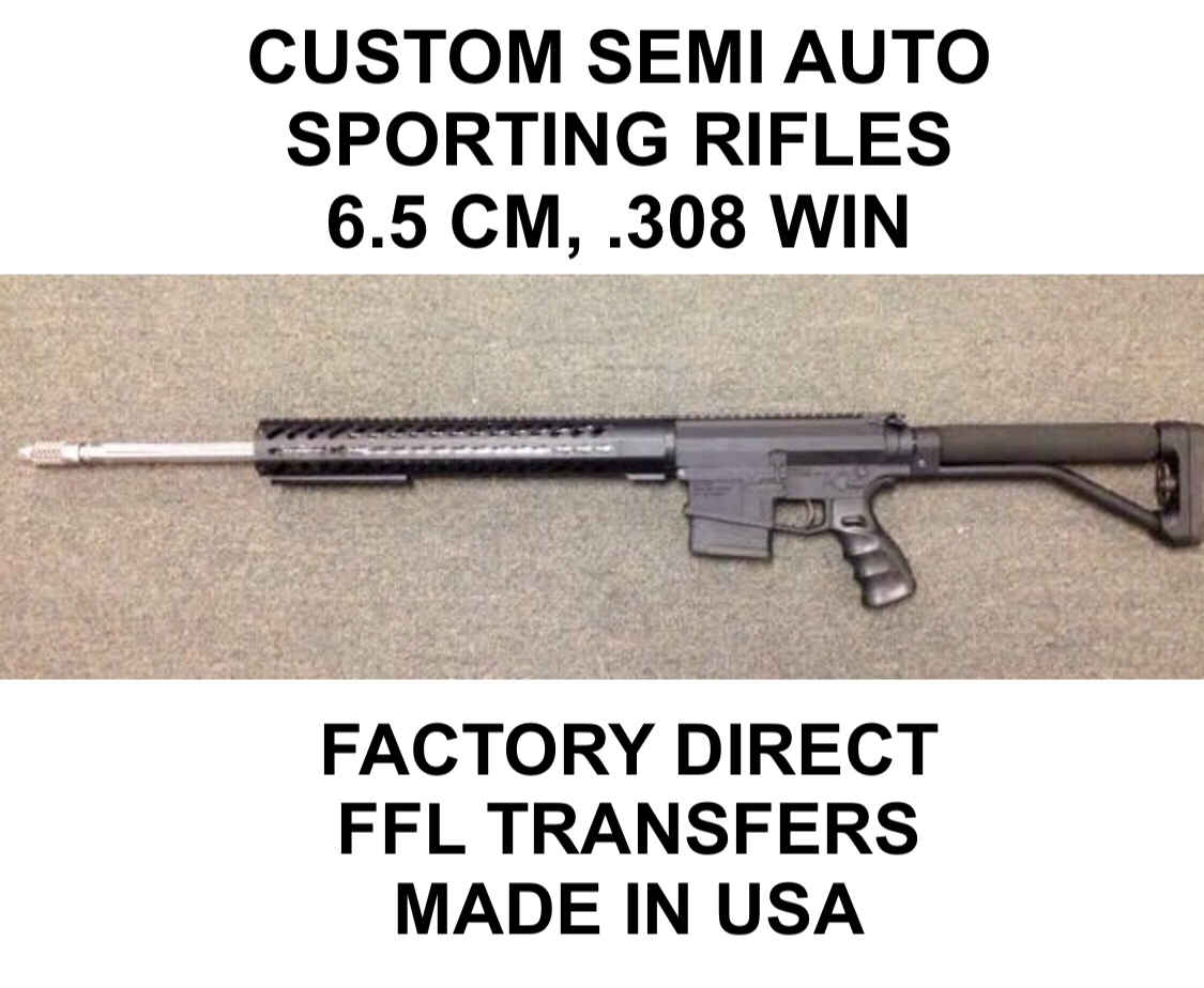 Good morning Gunnies Samcorp Arms mfg is in house components manufacturer. With many clients in USA