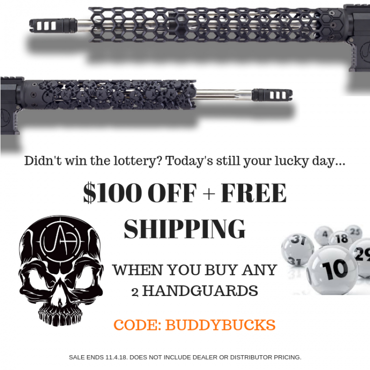 $100 off Unique-ARs?!?! You may never see a sale this good again. #unique #ar15 #handguard #forend #