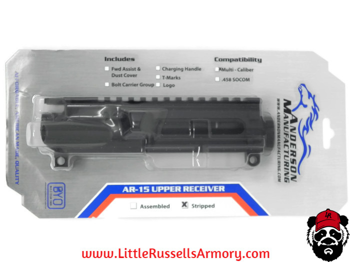 Black Friday Deals! 11/21-11/26 Anderson Stripped Upper Retail Packaged $34.99 https://www.littlerus