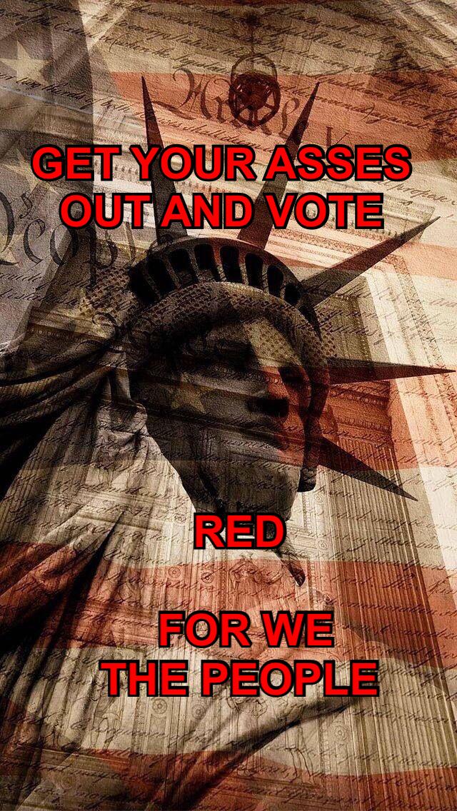 Save our republic vote Red E2B99216-C742-4C4D-AA5E-2F920B26AB39