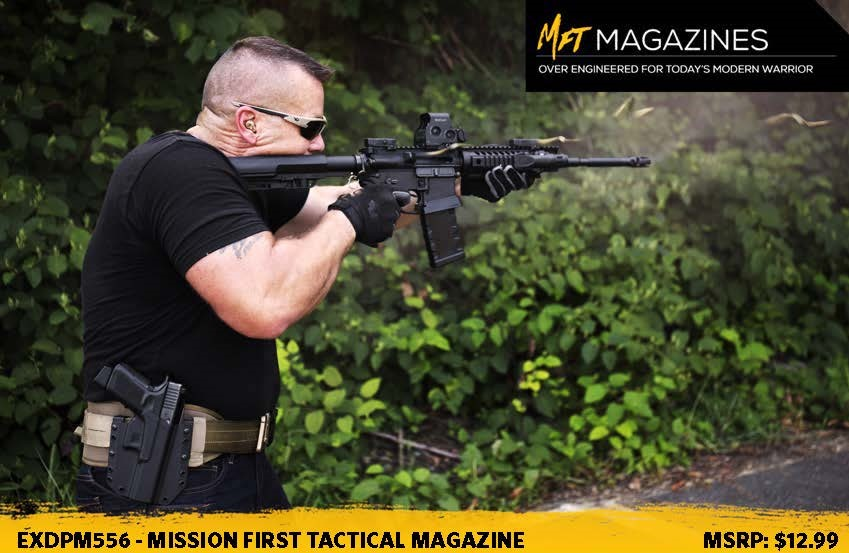 Mission First Tactical (MFT) Introduces the Extreme Duty 5.56 Polymer Mag