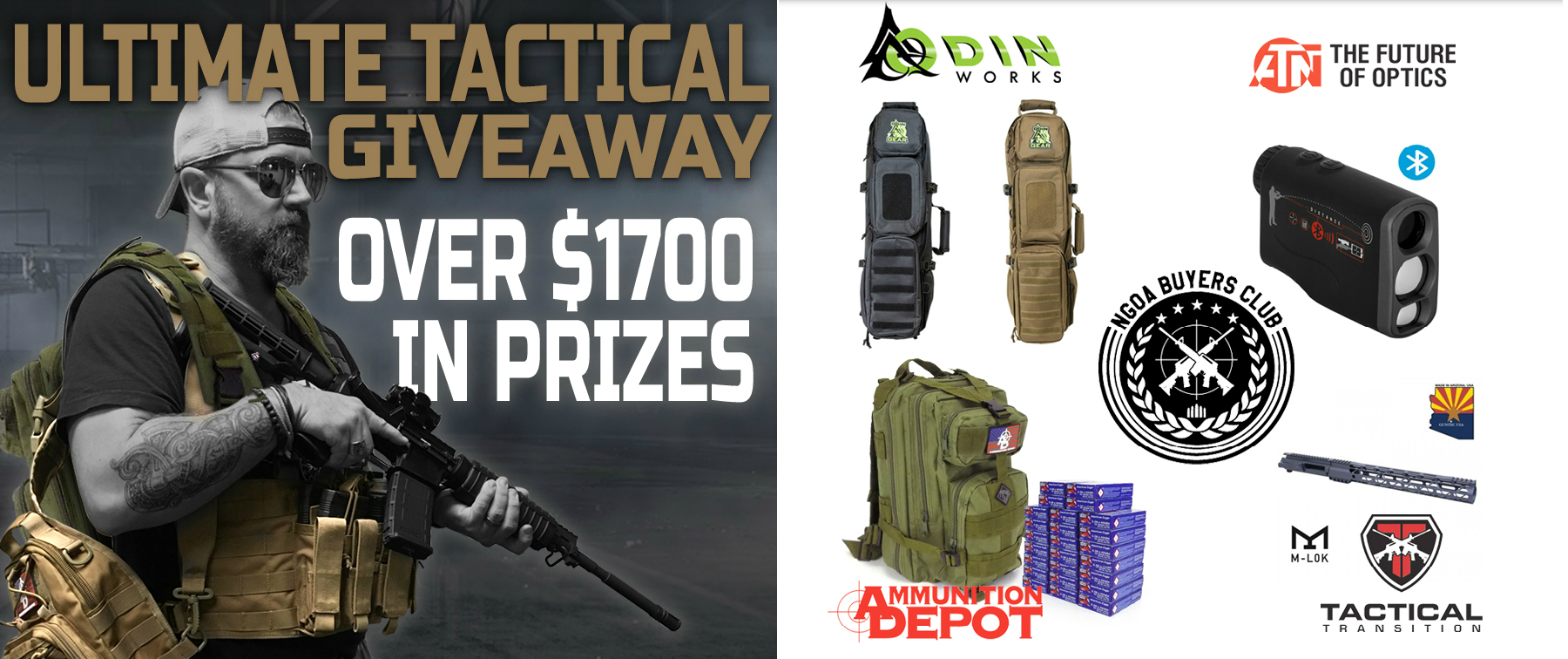 Win Over $1,700 in Prizes in the Ultimate Tactical Giveaway