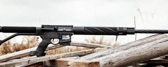 DoubleStar Donates Midnight Dragon™ Rifle to USA Cares Raffle