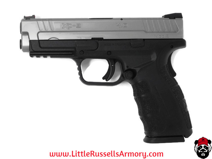 Weekend steal! Springfield XD Bi-Tone Mod2 9mm $349.99 shipped https://www.littlerussellsarmory.com/