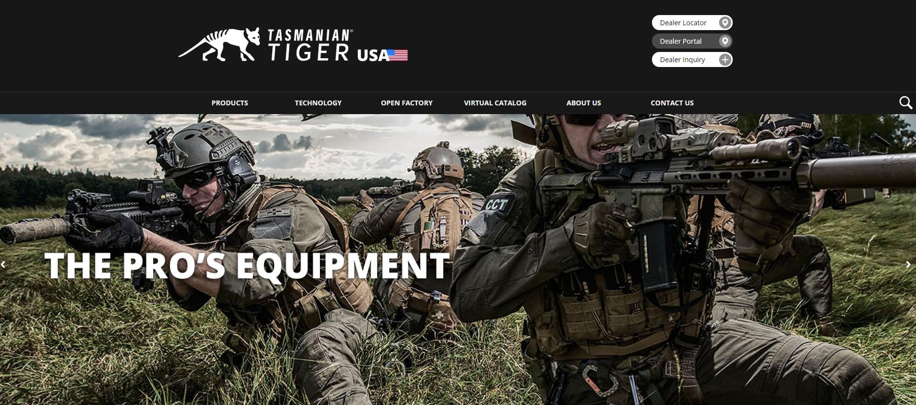 Tasmanian Tiger® USA Launches New Website and Social Media Platforms