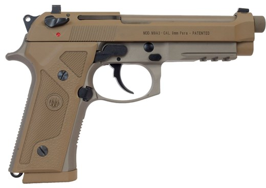 BEJ92M9A3GM M9A3 9MM FDE 5″ 17+1 DECOCKER DECOCKER ONLY   THREADED BBL 9mm. Email me for the p