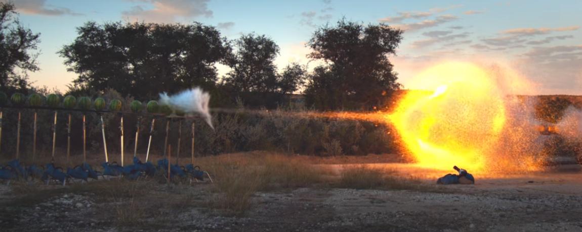 Top Slow motion bullet shots: Insane impacts, ballistics, steel (videos)