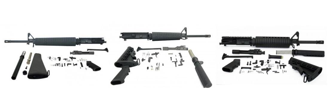 Premium Palmetto State Armory (PSA) CHF AR 15 Rifle Kits