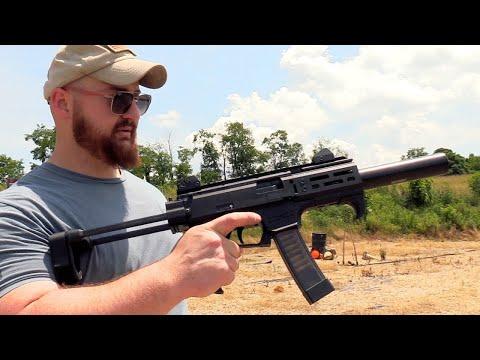 Bowers ASP Lightest Pistol Suppressor (45 ACP)