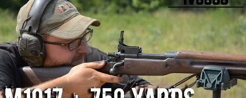 M1917 Open Sights 750 yards