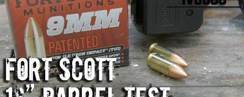 Fort Scott 9mm T.U.I. 16″ Barrel Test