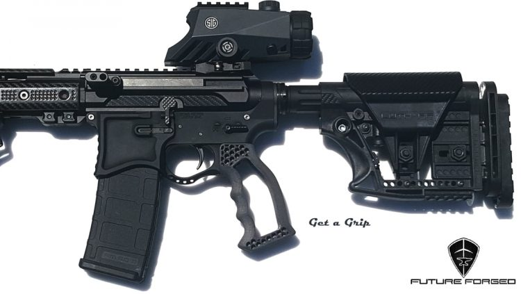 Are you looking for light weight ergonomic AR Accessories? or need a custom grip done because nobody