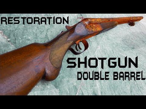 Vintage Double Barrel ShotGun – Impressive RESTORATION