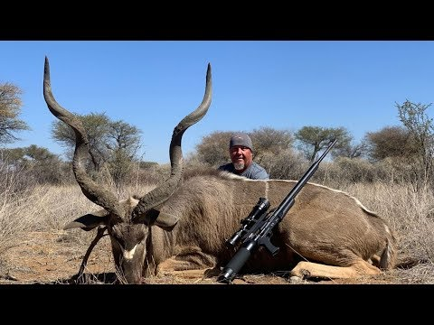GIANT KUDU Harvested With AIR!!! {Namibia Africa}