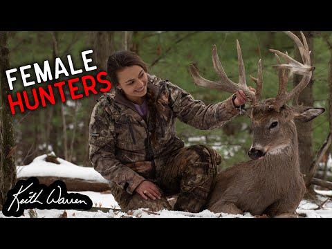 Female Hunters chasing Trophy Whitetail Bucks
