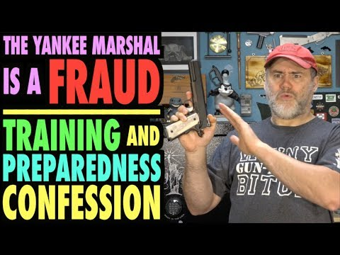 TYM is a Fraud...Training & Preparedness Confession