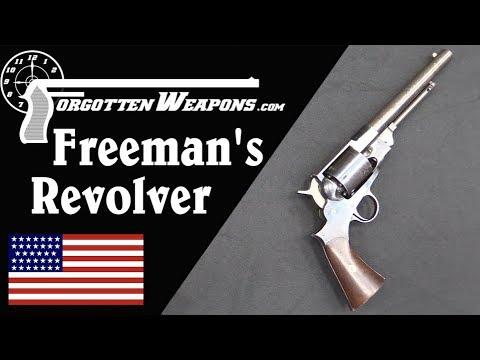 Freeman's Patent Revolver (No, Not Half Life)