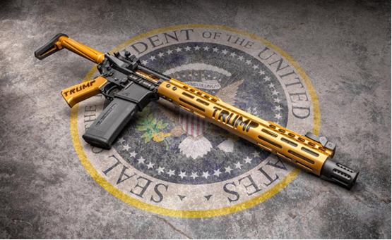 Any of you interested in new Trump Edition AR platform rifle ? Brand new model ! In honor of our Gre