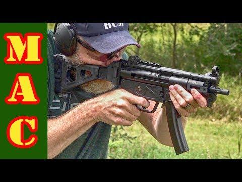 PTR 9kt 9mm pistol – HK MP5K clone