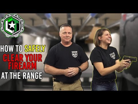 Clearing Your Firearm at the Range | QUICK TIPS