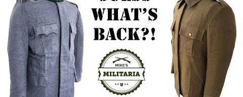 GUESS WHAT'S BACK AT MIKE'S MILITARIA?! WW1 and WW2 Uniforms