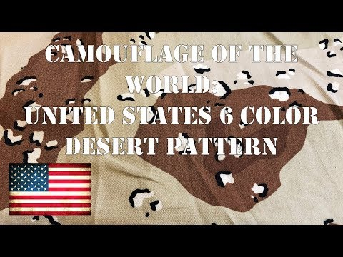 Camouflage of the World: U.S. 6 Color Desert AKA