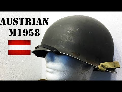 Helmets of the World: Austrian M1958 Steel Helmet