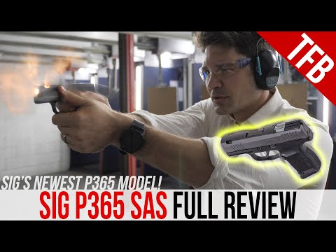 NEW! SIG P365 SAS Review: How Does it Stack Up?
