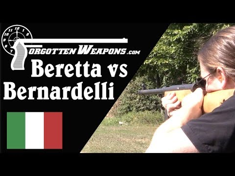 SMG Comparison: Bernardelli VB vs Beretta Model 4