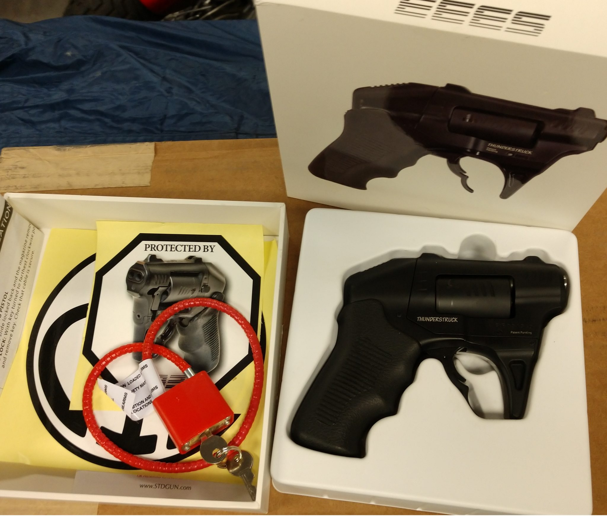 Thuderstruck S333 package, fired 4 rounds, holster is new, comes with original box and goodies. $450