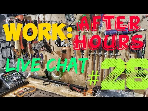 Work: After Hours WINNER ANNOUNCEMENT and gun chat!