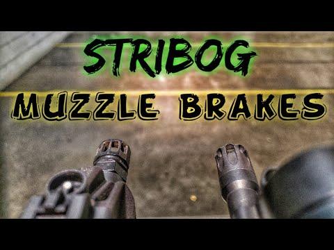 Grand Power Stribog Muzzle Brake Test
