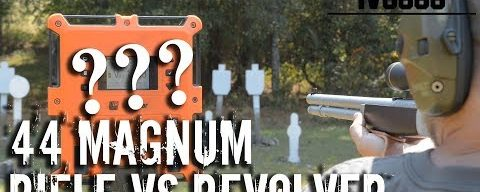 44 Magnum Rifle vs Revolver