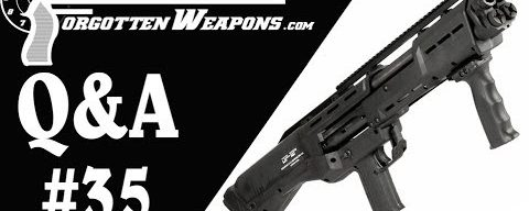 Q&A 35: Books, Black Powder, and Why the DP12 is So Annoying