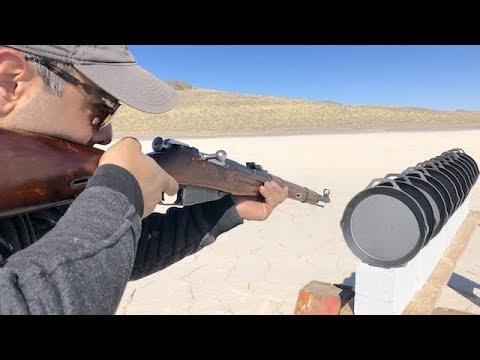 Mossin Nagant vs PUBG Cast Iron Skillets