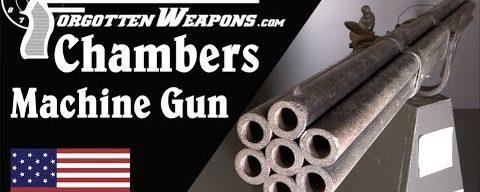 Chambers Flintlock Machine Gun from the 1700s