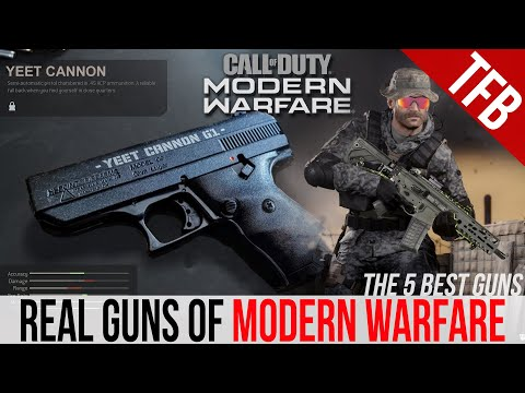 The 5 Best REAL Guns of CoD: Modern Warfare