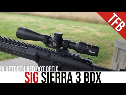 "An ""Automatic"" Smart Scope: The Sierra 3 BDX From Sig"
