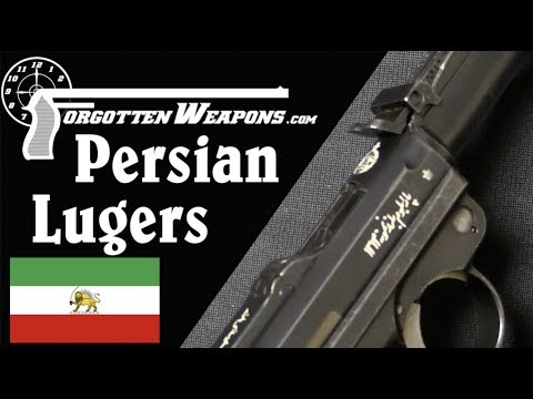 Persian Model 1314 Luger and Artillery Luger