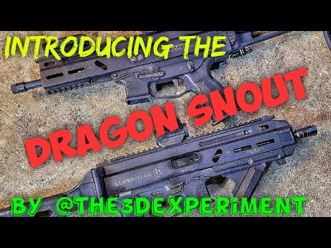 the3dexperiment Dragon Snout Review for the Grand Power Stribog