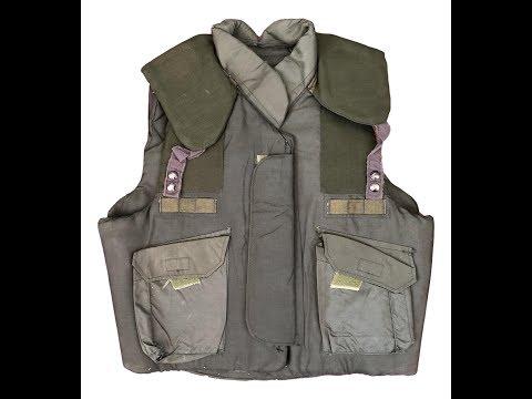 Weird Surplus Gear- US Olive Drab M84 PASGT Flak Vest.