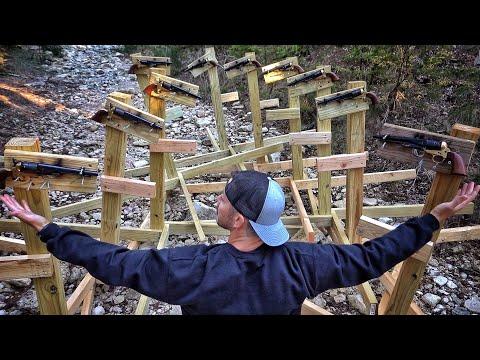 Rube Goldberg Machine… But With GUNS!!!