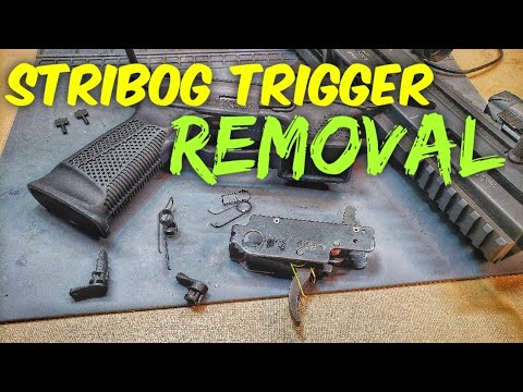 Grand Power Stribog Trigger removal and Spring Replacement