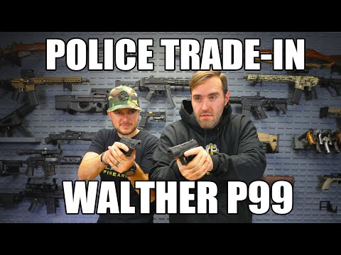 L.E. Trade-In Walther P99 Pistols In Excellent Condition