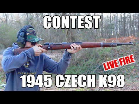 [Contest] Win A 1945 Czech K98 Rifle